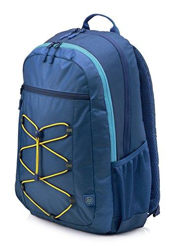 HP Active Rucksack (39,62 cm/15,6 Zoll, für Notebooks, Laptops, Tablets) blau/gelb