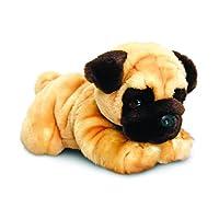 Keel Toys SD5456 35 cm Soft Plush Pug, Brown