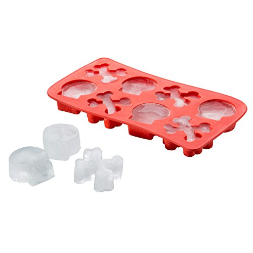 Goods & Gadgets 3D Eiswürfelform Totenschädel Totenkopf Knochen Eiswürfel Form Skull & Bones aus...