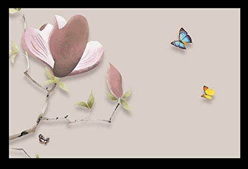 HHCYY 3D Tapete Orchidee Chinesischen Hintergrund Wohnzimmer Schlafzimmer Tv Wandbilder Foto-250cmx175cm