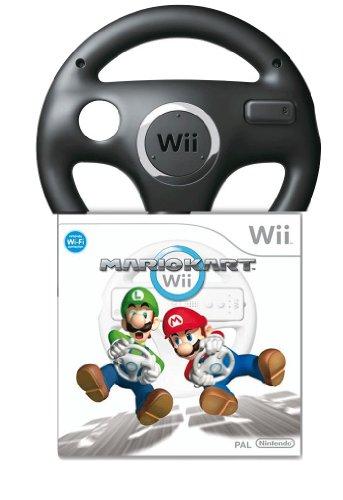 Mario Kart Wii inkl. schwarzem Lenkrad - Special Edition