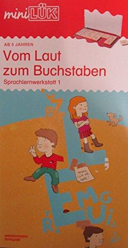 miniLÜK-Übungshefte / Vorschule: miniLÜK: Vom Laut zum Buchstaben: Sprachlernwerkstatt 1 - Vorübungen zum Lesenlernen für Kinder von 5 - 7 Jahren (Cover Bild kann abweichen) (Eine Richtung Handtuch-set)