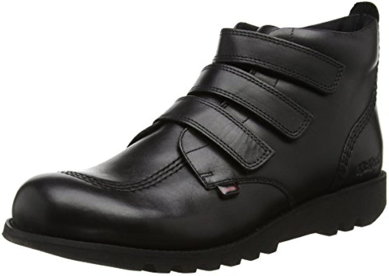 Kickers Herren Kick 3 Strap Stiefel  SchwarzKickers Herren Strap Stiefel Schwarz Billig und erschwinglich Im Verkauf