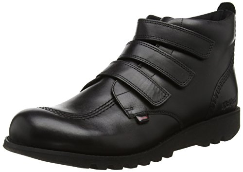 Kickers Men's Kick 3 Strap Boots, Black (Black), 8 UK 42 EU