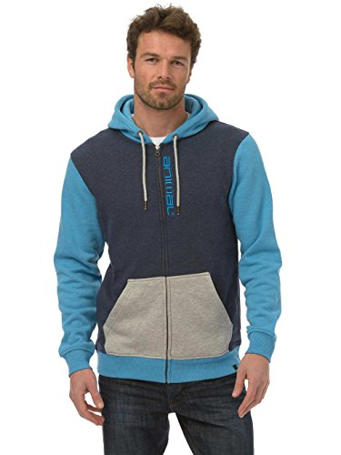 Animal Herren Hoodie Westcove kingfisher blue marl