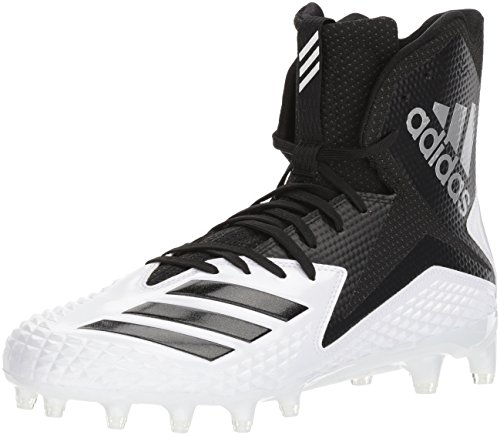 adidas Herren High Freak X Carbon Mid Football-Schuhe, White Core Black, 44 EU M