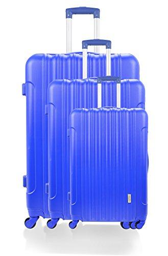 Manoukian Canary Wharf Set de Bagages, 71 cm, 90 L, Navy Bleu