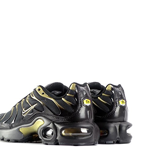 nike air max 1 plus (GS) TN tuned Sneaker 655020 sneakers black black metallic gold 038