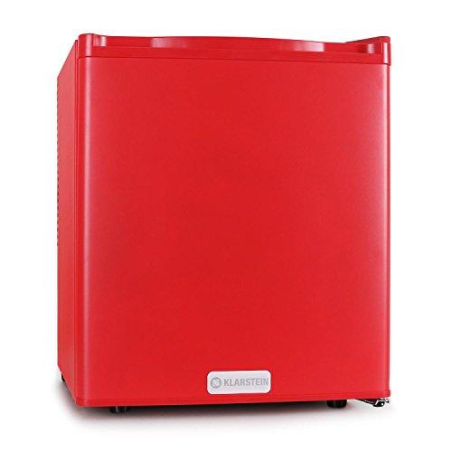 Klarstein FW-MKS-5 Minibar Kühlschrank kleiner 48 L Getränkekühlschrank (48 Liter, EEK C, 1 Regaleinschub) rot