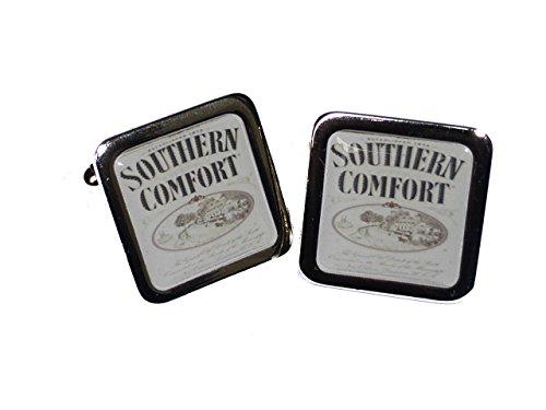 southern-comfort-cufflinks-chrome-alcohol-novelty