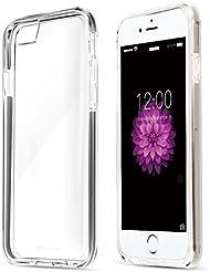 Coolreall-Funda Apple iPhone 6/6s Case Cover Carcasa Fundas Bumper Tope Shock- Absorción y Anti-Arañazos Borrar Espalda para iPhone 6 4.7 transparente