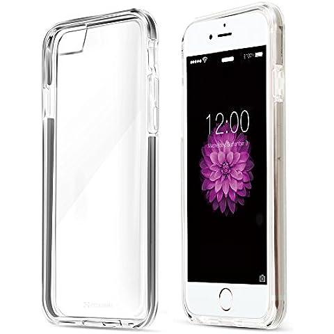 Coolreall-Funda iPhone 6 6s Case Carcasa Fundas Bumper Tope Shock- Absorción y Anti-Arañazos Borrar Espalda para iPhone 6 6s