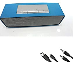 Jiyanshi Samsung Galaxy J7 (2016) Compatible Bluetooth Speakers Android And Apple Smartphones | Sound Link Mini Portable Wireless | Aux Input | FM Radio | Support Pen Drive | microSD Card | Bluetooth Mobile/Tablet Speaker (2.1 Channel) | Premium High Quality Genuine Product