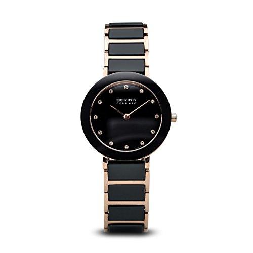 BERING Damen-Armbanduhr Analog Quarz Edelstahl 11429-746
