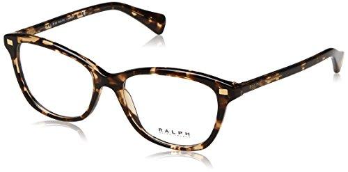 Ralph Lauren Ralph By RA7092 1691 52 Gläser in Smokey Tortoise Gr. 52, Clear Brown