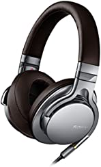 Sony MDR-1AS High Resolution Kopfhörer (40mm High Definition-Treibereinheiten) silber