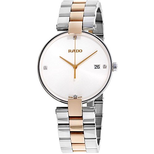 Rado Men's Coupole 36mm Two Tone Steel Bracelet Quartz Analog Watch R22852713