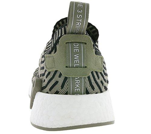 Uomo scarpa sportiva, colore Verde , marca ADIDAS ORIGINALS, modello Uomo Scarpa Sportiva ADIDAS ORIGINALS NMD R2 PK Verde VERDE MILITARE