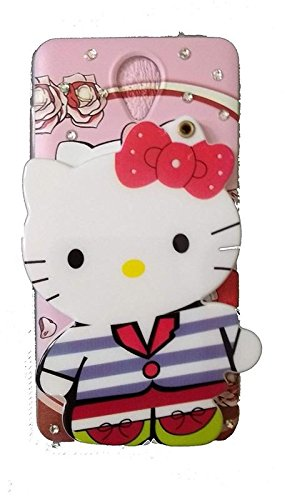 Aarnik Mirror Hello Kitty Special Girl's Printed Back Case Cover for Vivo Y21/Y21L (Colours May Vary)