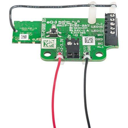 ELV Homematic IP Komplettbausatz Schaltplatine für Batteriebetrieb HmIP-PCBS-BAT, für Smart Home/Hausautomation