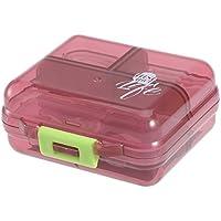 Ounona Tragbares Pillen-Etui mit 7Fächern Doppelte Schicht-Behälter mit für Camping, Outdoor und Reisen preisvergleich bei billige-tabletten.eu