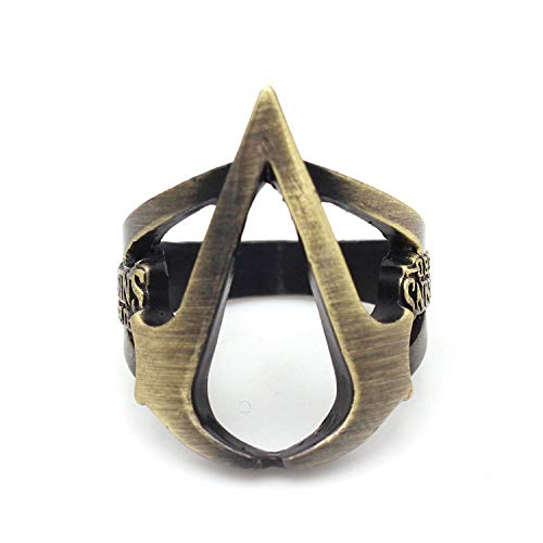 hcoser Assassin's Creed Ring Exquisite Juweliere Cosplay Sammlung ()
