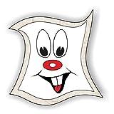 jeder-kann-basteln ♥ Sticker-Gesichter-mit Zähne ♥ Kleiner Preis! Lustige Aufkleber (Augen, Nase, Mund) für Kinder (klein)