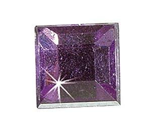 KREUL 49622 - Piedras Preciosas para el diseño de Accesorios de Moda y para la decoración del hogar, 150 Piedras claras, Cuadrados