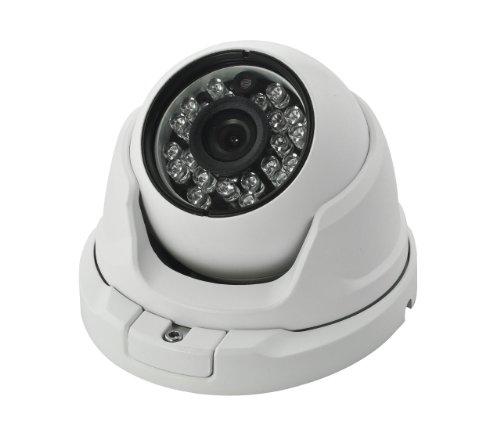 BW® INNOVADOR CCTV CAMARA DOMO 700TVL SONY CCD INTEMPERIE  CARCASA DE METAL VIVIENDA CON OSD-WHITE