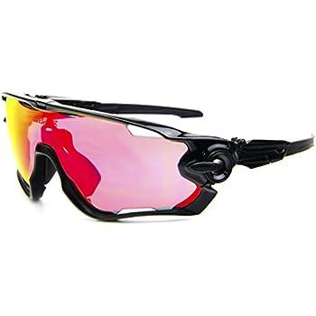 OPEL-R Im Freien reiten halben Frame polarisiert Sport Brille/Sonnenbrille, Go Wind und Sand Strahlung Brille/kompakte, leichte, tragen Sie bequemes Gefühl schwerelos , pink