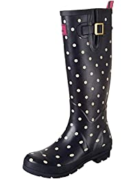 Tom Joule Wellyprint, Damen Stiefel