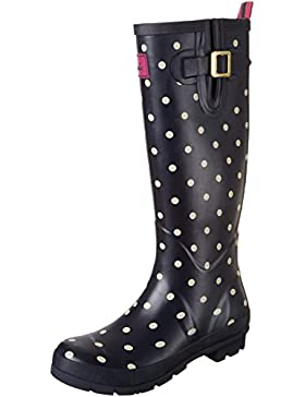 Tom Joule Damen Welly Print Gummistiefel
