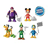 IMC Toys 182950 - Disney Junior Topolino e The Roadster Racers 5 Personaggi