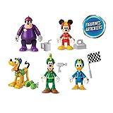 TOPOLINO Set 5 Figure METALLO 4cm Mickey Mouse Minnie JADA NANO Metalfigs DISNEY
