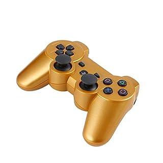 Nowakk Leichter tragbarer Joystick Wireless Bluetooth Game Controller Fernbedienung Gamepad Joystick für PS3