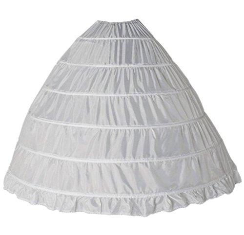 FNKSCRAFT Brautkleid Petticoat Unterrock Reifrock petticoat kleid 50er Hochzeit Petticoat Reifrock...