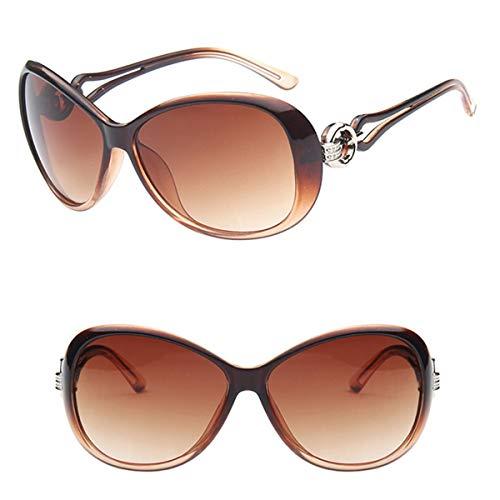 Sonnenbrillen NEW Classic Gradient Sunglasses Women Brand Designer Vintage Oversized Sun Glasses UV400 Oculos De Sol Feminino Tea