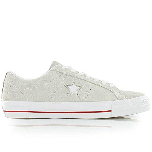 Converse ONE Star Skate OX beige/rot (Converse Schuhe Skate Star One)