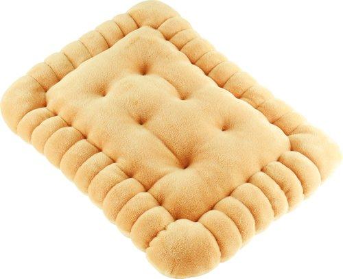 """Unitedlabels 0116704 Kissen""""Butterkeks"""", circa 40 x 30 cm"""