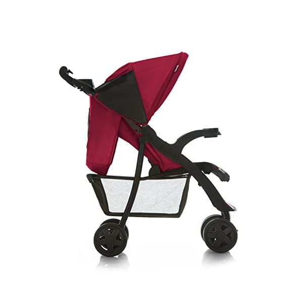 Hauck Shopper Neo II, Folding Pushchair from Birth to 25 kg, Lightweight with Lying Position, Two Cupholder Trays, One Hand Fold, Caviar/Tango Hauck Fold in seconds with one hand Comfortable seat with lying position and adjustable footrest Includes 2 practical bottle trays 5