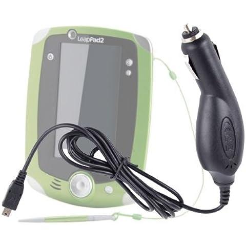DURAGADGET Cargador Para El Mechero Del Coche Con Mini USB Para La Tablet De Niños Leapfrog LeapPad 2