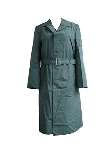 ECHTE Deutsche Armee Gents Beamte NVA Wasserdicht Full Längen Regenmantel in grün wie neu, Grün, D Olive Drab Poncho