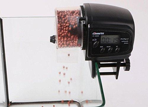 Fengh Aquarium LCD-Display Digital Automatische Oder Manuelle Tank Timer Fischfutter Feeder (Automatischer Digital-feeder-timer)