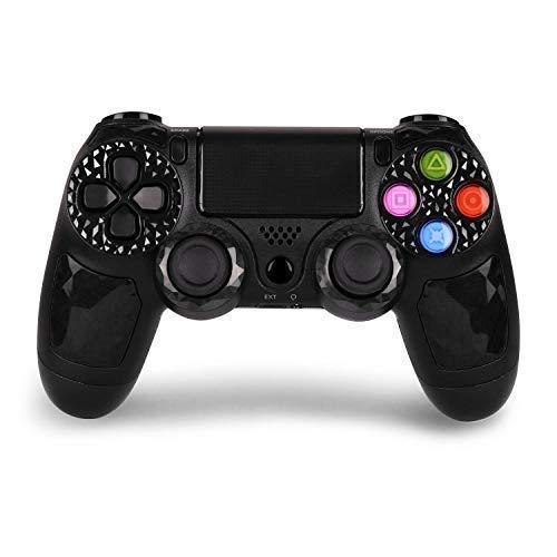 HQD PS4 Mando Inalámbrico Wireless para PlayStation 4 de Alta Calidad HighQuality Diamond, con DoubleShock 4 y Batería de lítio 1.000 mAh. Compatible con Play4/Slim/Pro, PC Windows y PS TV/SMART TV.