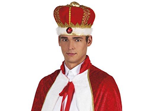 Alsino Fun Karnevalshut Doktor Matrosen Polizei Hut Herren Faschingshut Damen Partyhut , wählen:Royaler König 01237