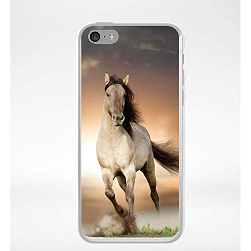 coque iphone 5 silicone cheval