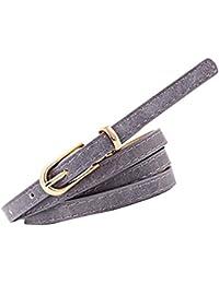Cinturones Mujer Cuero Cinturones Mujer Vaqueros Cintura Fina Mujer AIMEE7  Cinturones De Mujer Para Vestidos Cinturones 825785e5b6eb