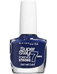 Gemey Maybelline - Vernis à Ongles - Forever Strong Pro (Tenue & Strong Pro) - N°630 Dark Denim