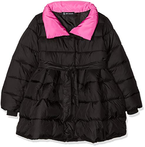 SMITHROAD Mantel Winter Winterjacke Mädchen verdickte Oberbekleidung Schleife warm Stehkragen Winddicht Trenchcoat Outerwear 3 Farben 4