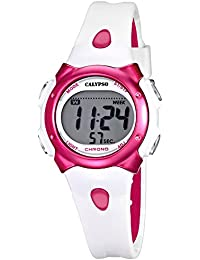 Calypso Reloj de pulsera para mujer cuarzo reloj reloj de plástico con Poliuretano banda de alarma Cronógrafo digital todos los modelos K5609, variante: 03